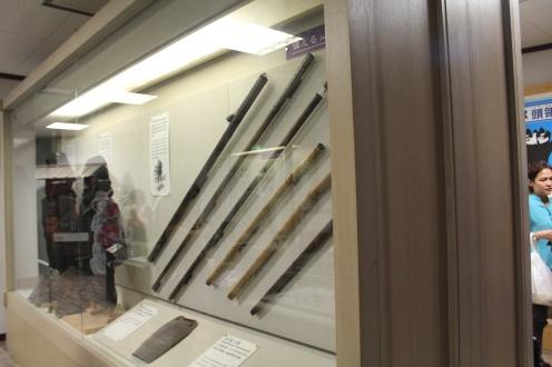 Koleksi pedang ninja di museum