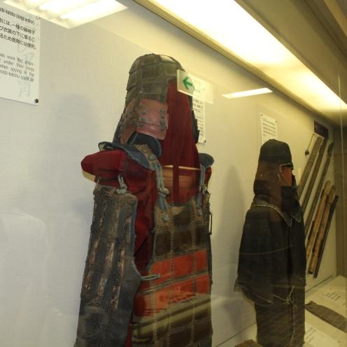 Koleksi kostum ninja di museum