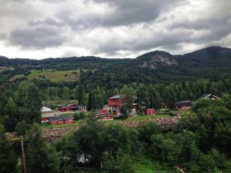 Pemandangan dari kereta Oslo - Myrdal