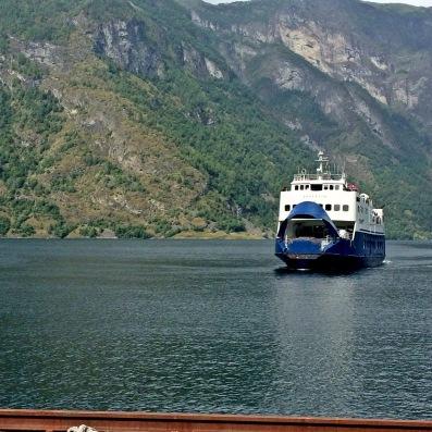 Ferry dari Flam ke Aurland