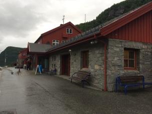 Stasiun Myrdal yang tampak sepi