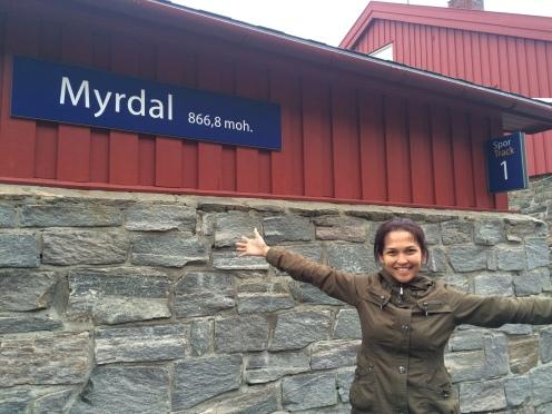 Myrdal, 867 meter dari permukaan laut