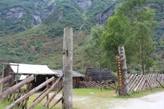 Perkampungan Viking di Fjord