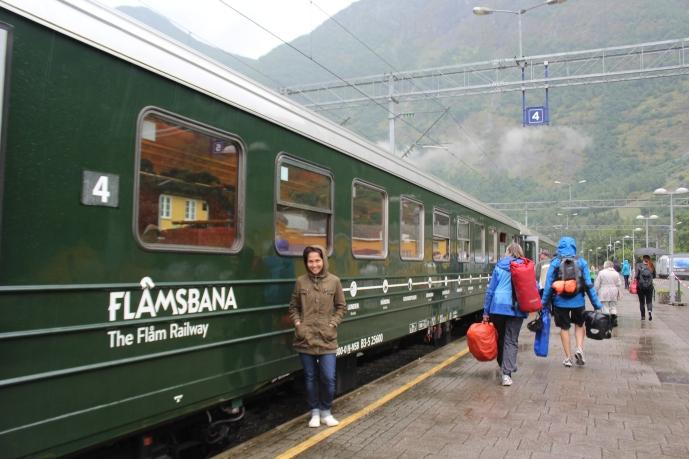 Kereta Flamsbana tampak luar