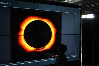 Amazed lihat cincin matahari