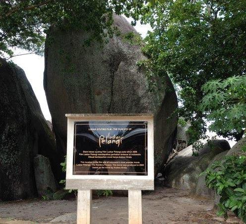 Tanjung Tinggi, icon Belitung dan Laskar Pelangi