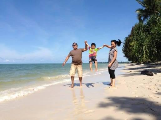 Pantai pendaunan