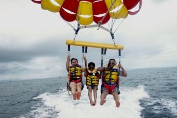 Parasailing take-off