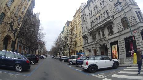 Jalan Parizska, Praha