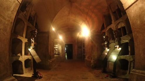 Ruang bawah tanah tempat terdesaknya tentara Cekoslovakia