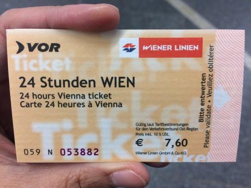 Tiket transport di Wina