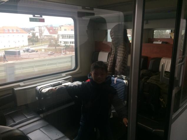 Perjalanan kereta Wina - Ljubljana