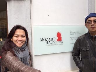 Tampak depan Mozart Haus