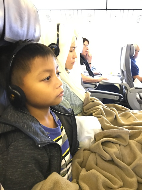 on the way to Jeddah, Saudi Arabia Airlines