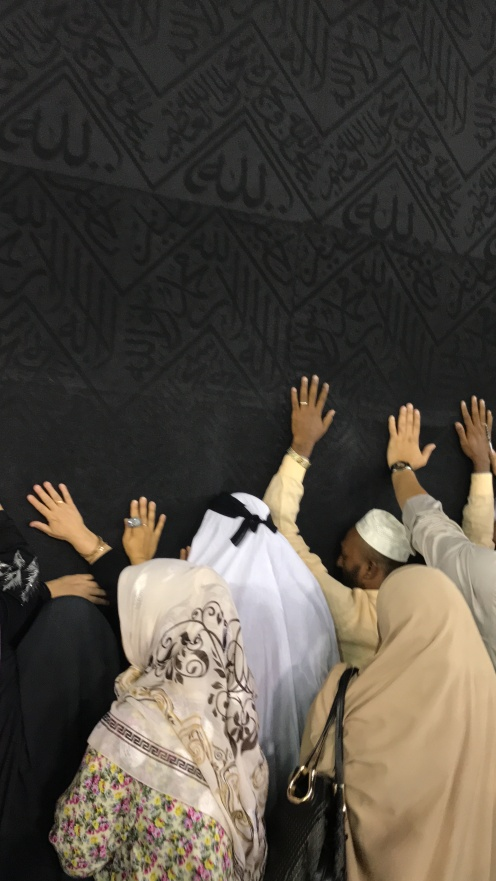Alhamdulillah..bisa sedekat ini dengan Ka'bah