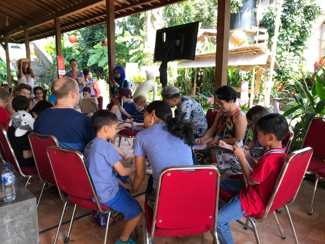 Ubud Writers & Readers Festival 2017 for children