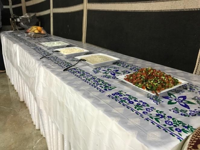 Dinner time at Shary Al Ula Camp