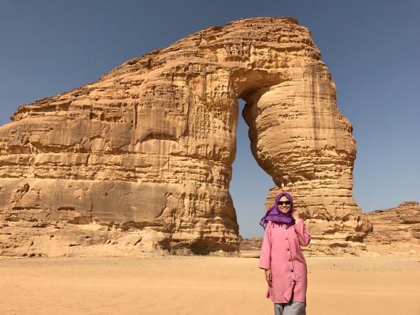 Elephant Rock in Al Ula