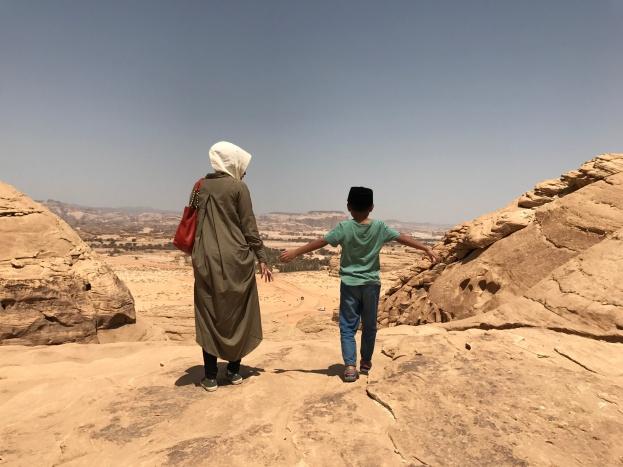 Mount Ithlib di Madain Saleh