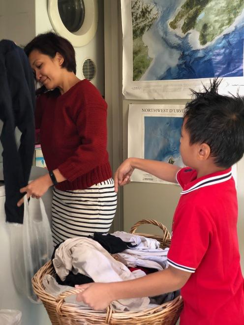 Cinderella mode ON : Laundry baju