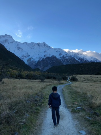 Trailing in Aoraki / Mount Cook
