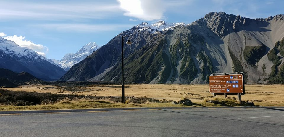 Stunning view in Aoraki / Mount Cook