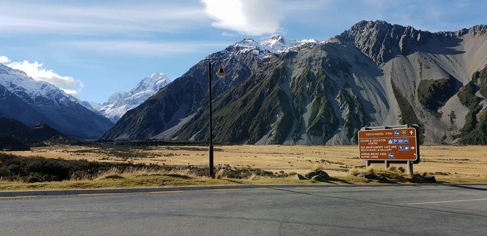 Stunning view in Aoraki / Mount Cook