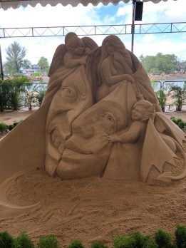 Marvel Sandsation at Siloso Beach