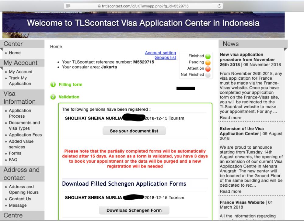 Apply Visa Schengen lewat Prancis