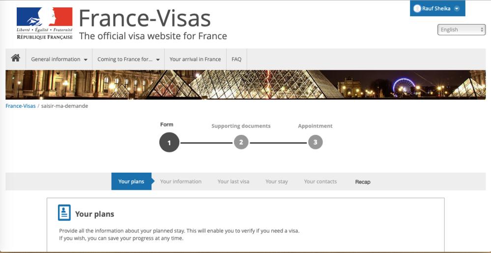 Visa Schengen lewat Prancis