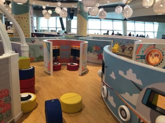 Playground di Muscat International Airport