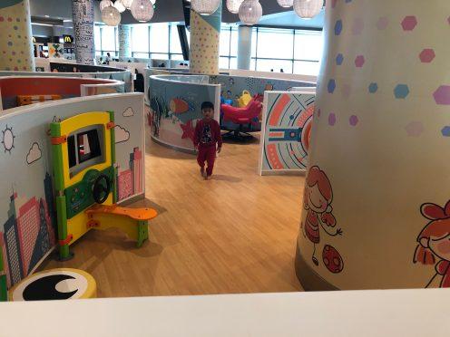 Playground di Muscat International Airport
