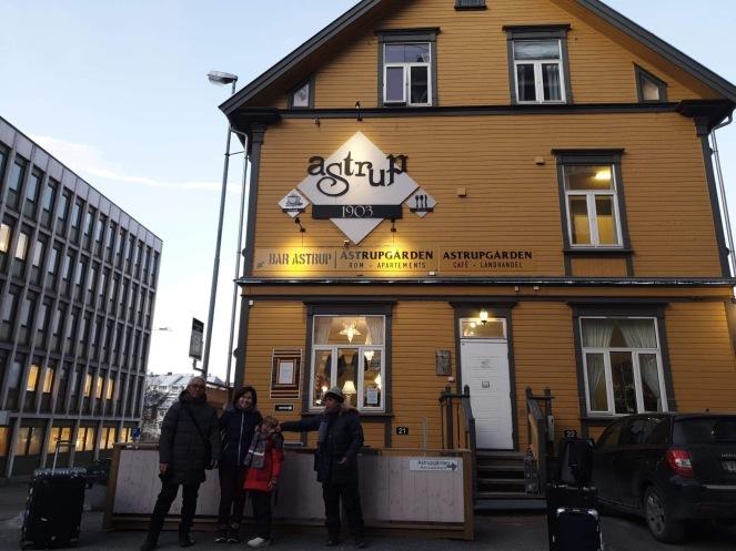 AstrupGarden, Narvik, Norwegia