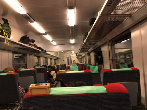 Kereta menuju ke Abisko