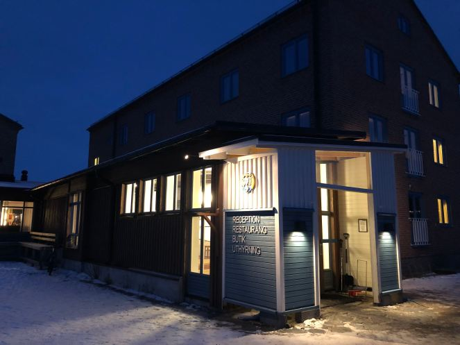 STF Abisko Turiststation, an accomodation in remote area of Abisko National Park