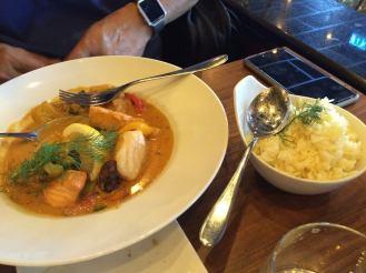 Menu seafood di Räkan Restaurant Stockholm