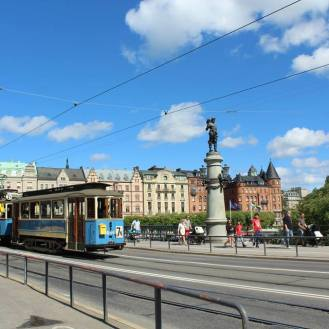 Djurgarden on summer