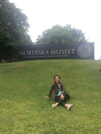 Djurgarden on summer. Banyak museum dan, taman dan tempat menarik lainnya di area ini