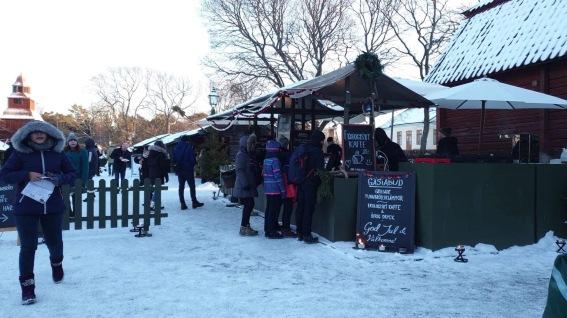 Christmas Market di Skansen