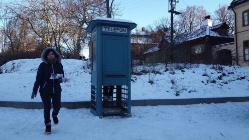 Kabin telepon masa lalu