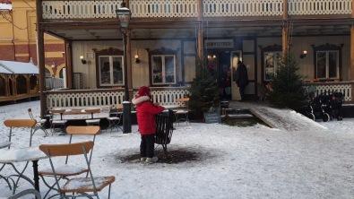 Salah satu restoran di Skansen