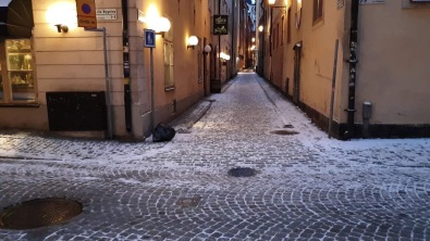 Gamla Stan on winter