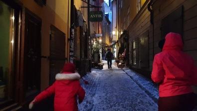 Gamla Stan on winter