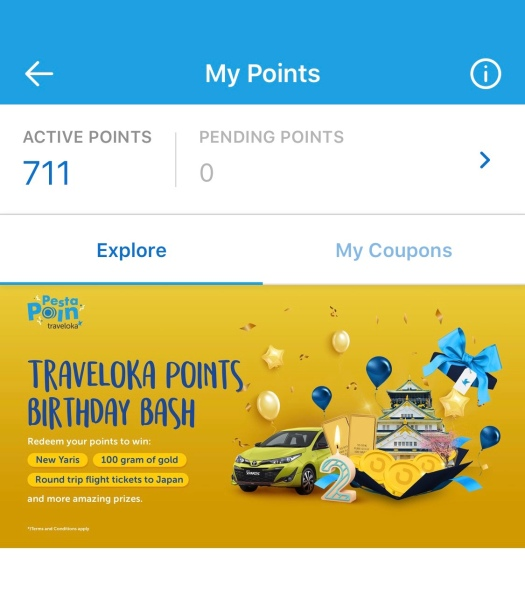 Traveloka Points