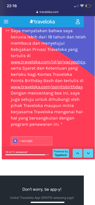 Traveloka Points Birthday Bash 2nd Anniversary