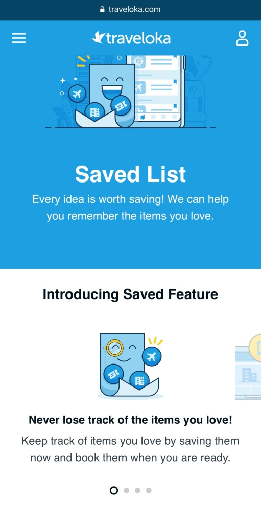 Step by step saved & collection feature