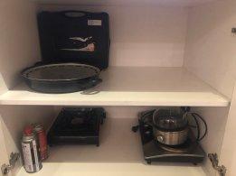Dapur dengan segala perlengkapannya