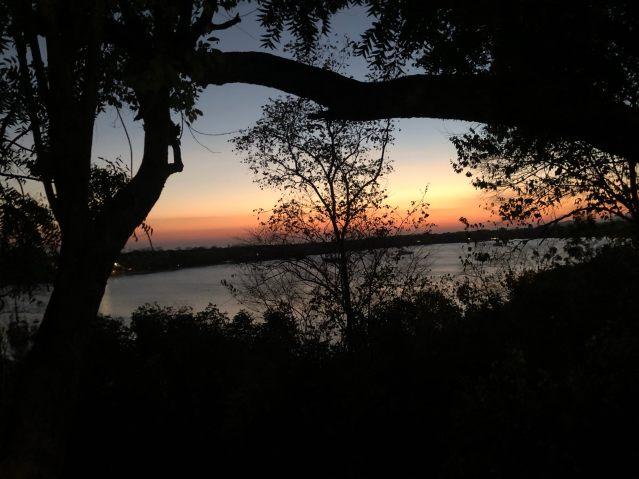 Sunset at Bajul Eco Lodge by Plataran